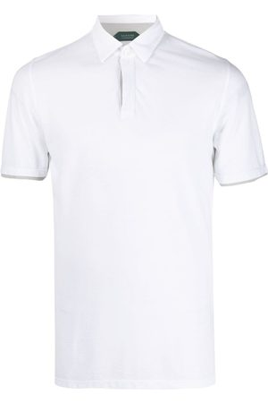 ZANONE Layered-cuff polo shirt