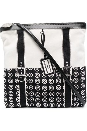 10 CORSO COMO Geometric-print panelled crossbody bag