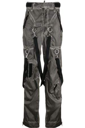 Dsquared2 Men Trousers - Washed-effect Commander trousers