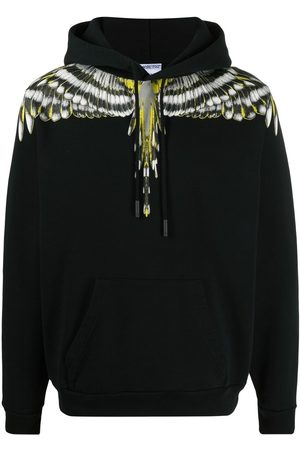 MARCELO BURLON Men Hoodies - Wings-print hoodie