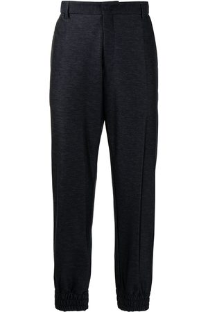 Emporio Armani Elasticated-waist trousers