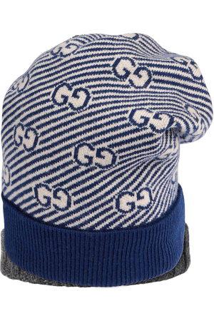 Gucci GG intarsia-knit beanie hat