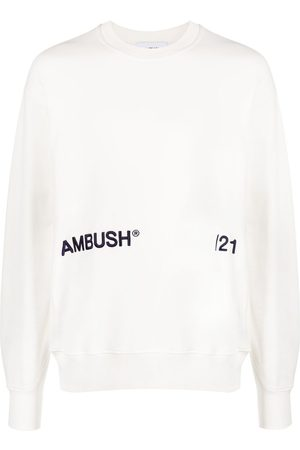 AMBUSH Logo-print long-sleeve sweatshirt