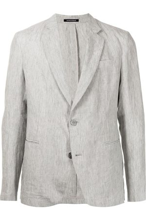 Emporio Armani Fitted single-breasted blazer