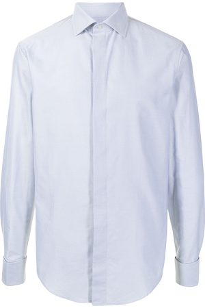 Emporio Armani Long-sleeve cotton shirt