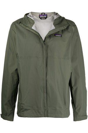 Patagonia Logo-patch hooded jacket
