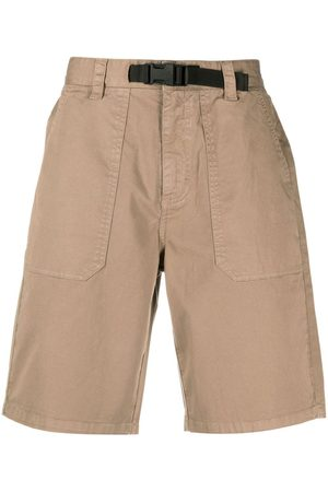 sun68 Men Bermudas - Knee-length buckle-detail shorts