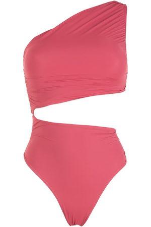 Brigitte Women Swimsuits - Cut-out ruched swimsuit