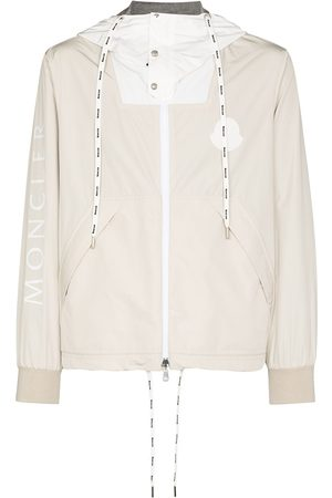Moncler Men Jackets - Drawstring logo-print jacket