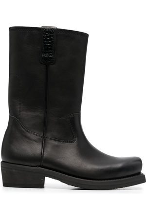OUR LEGACY Calf-length leather boots