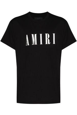 AMIRI Men Short Sleeve - Logo-print crew-neck T-shirt