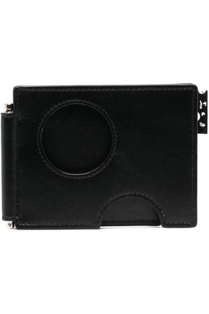 OFF-WHITE Men Wallets - Cut-out compact cardholder