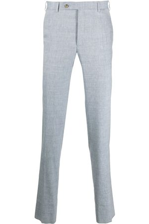 CANALI Men Chinos - Mid-rise chino trousers