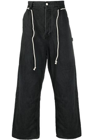 AMBUSH Drawstring oversized jeans