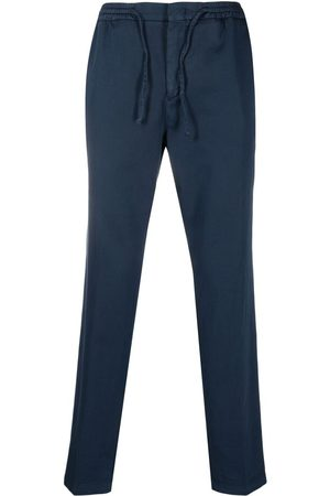 Manuel Ritz Men Slim Trousers - Slim-cut cotton track pants