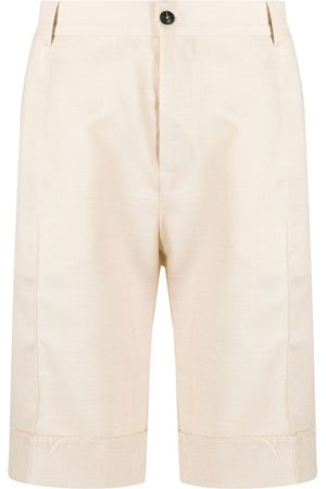 CORELATE Men Bermudas - Patch-pocket bermuda shorts