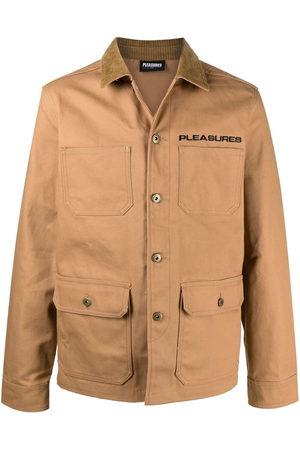 Pleasures Men Jackets - Graphic-print button-up jacket