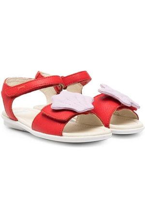 Camper Twins sea shell open-toe sandals