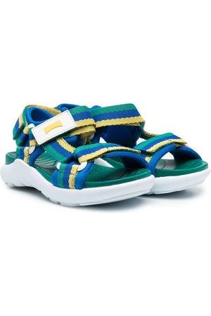 Camper Boys Sandals - Stripe touch-strap sandals