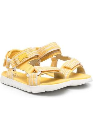Camper Girls Sandals - Logo touch-strap sandals