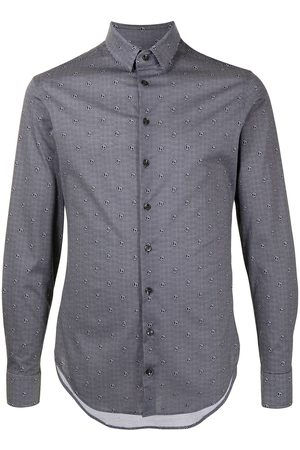 Armani Monogram print cotton shirt