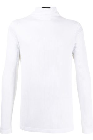 Emporio Armani Ribbed turtle neck jersey