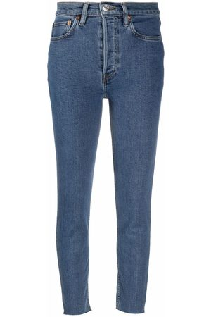 RE/DONE Women High Waisted - 90s high-waisted skinny jeans