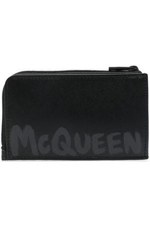 Alexander McQueen Logo-print wallet