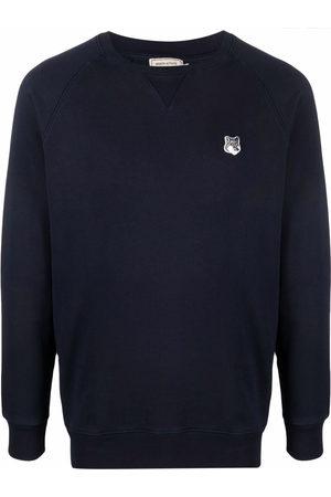 Maison Kitsuné Logo-patch sweatshirt