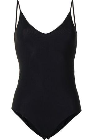 Jil Sander Women Tank Tops - Sleeveless V-neck body