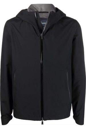HERNO Men Jackets - Lightweight button-front jacket