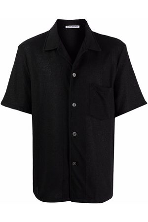 OUR LEGACY Boucle short-sleeve shirt
