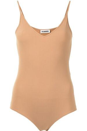 Jil Sander Sleeveless V-neck bodysuit
