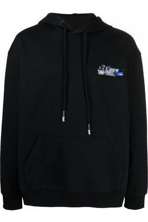Ader Error Men Jumpers - Logo-print pullover hoodie