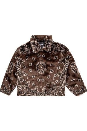 Supreme Bomber Jackets - Bandana faux fur jacket