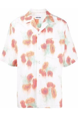 Kenzo Abstract-print short-sleeve shirt
