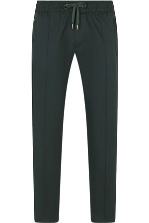 Dolce & Gabbana Men Trousers - Drawstring straight-leg trousers