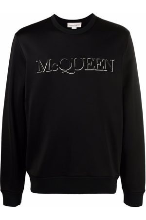 Alexander McQueen Embroidered-logo sweatshirt