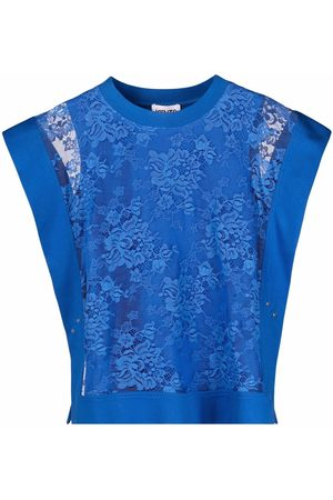 Kenzo Floral-lace top