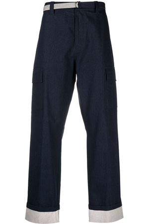 CRAIG GREEN Men Trousers - Panelled cotton-ripstop trousers