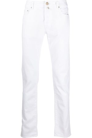 Jacob Cohen Men Straight - Low-rise straight-leg jeans