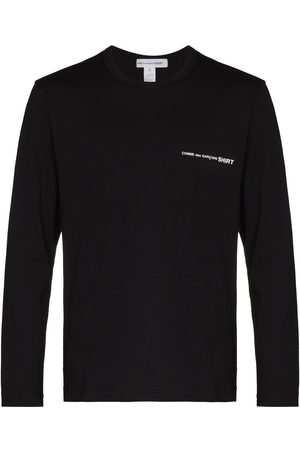 Comme des Garçons Men Long Sleeve - Small logo long-sleeve T-shirt