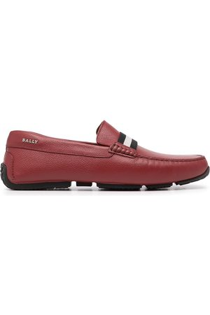 Bally Men Loafers - Square-toe leather loafers