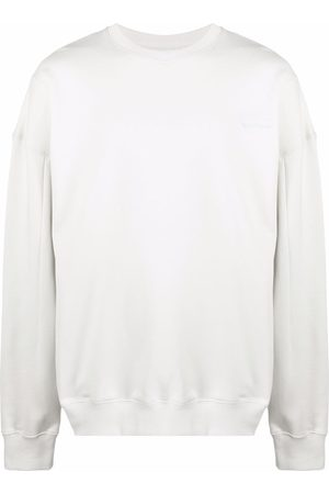 A-cold-wall* Men Jumpers - Embroidered-logo oversize jumper