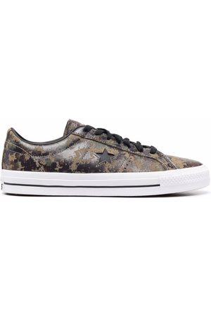 Converse Men Sneakers - Chuck Taylor camouflage-print low-top sneakers