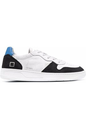 D.A.T.E. Men Sneakers - Vintage low-top leather sneakers
