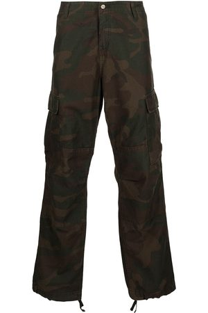 Carhartt Men Cargo Trousers - Camouflage-print cargo trousers