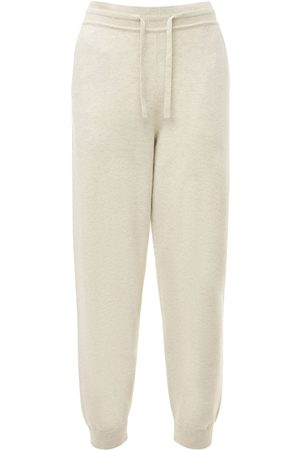 Isabel Marant Women Sports Trousers - Kira Knit Cotton Blend Sweatpants