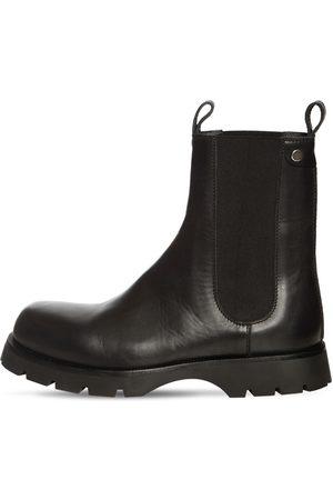 Jil Sander Men Boots - Leather Chelsea Boots