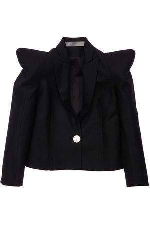 Balmain Girls Jackets - Stretch Virgin Wool Jacket